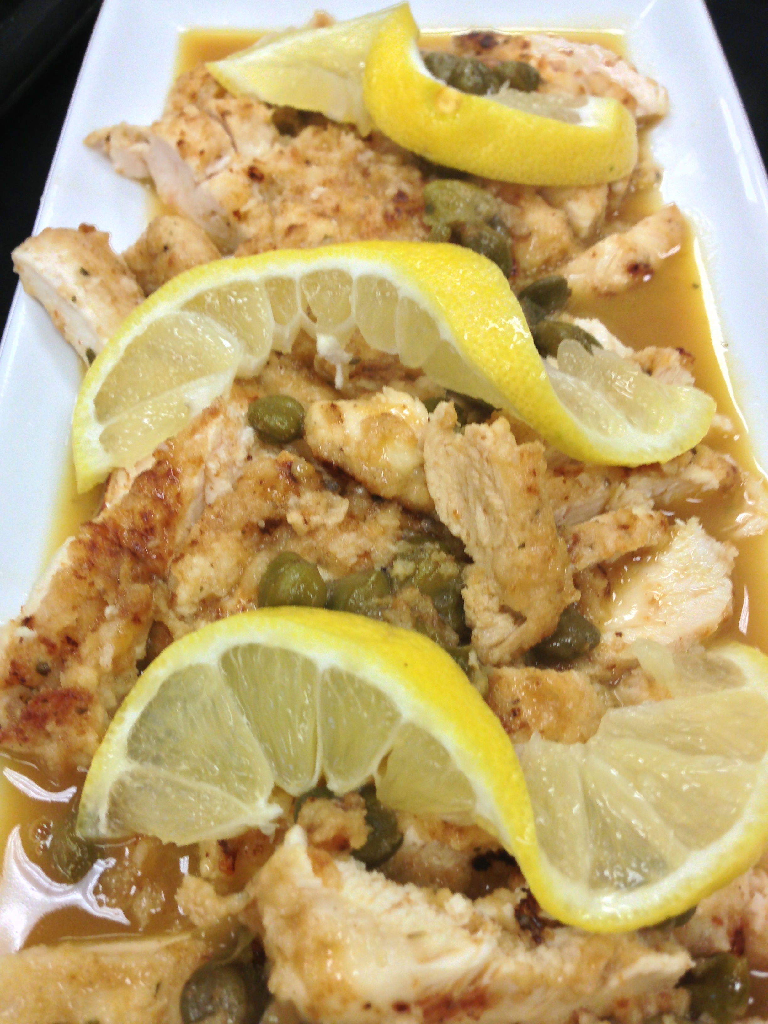 January 2013 foodsinthefastlane chicken scallopini forumfinder Choice Image