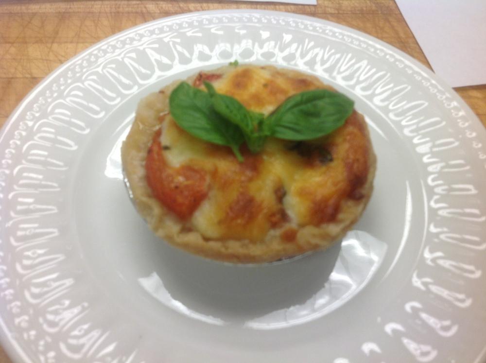 Tomato Basil Pie (4/5)