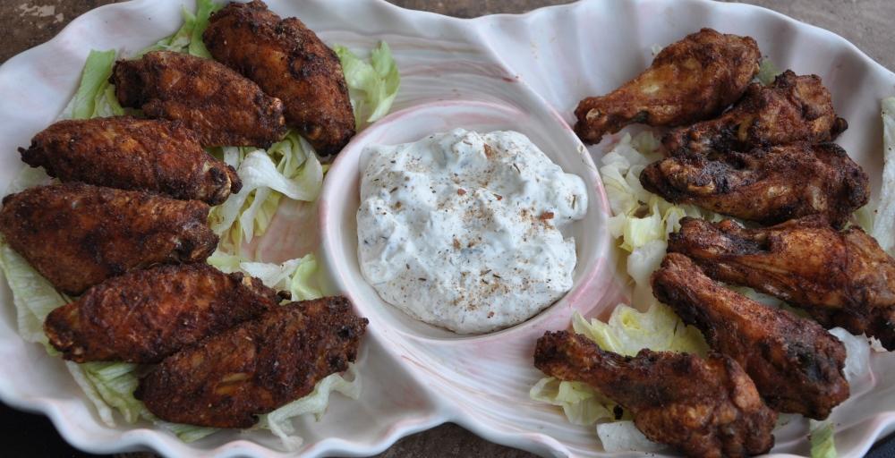 Jamaican Jerk Baked Chicken Wings (6/6)
