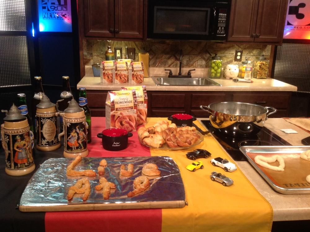 Chef Gail Churinetz – Make Pretzels at Home | WREG.com (1/2)