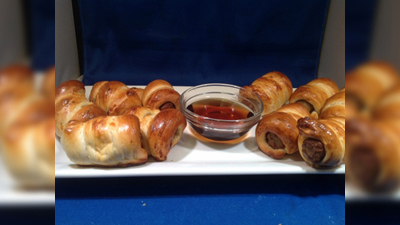 Pretzel Wrapped Breakfast Sausage