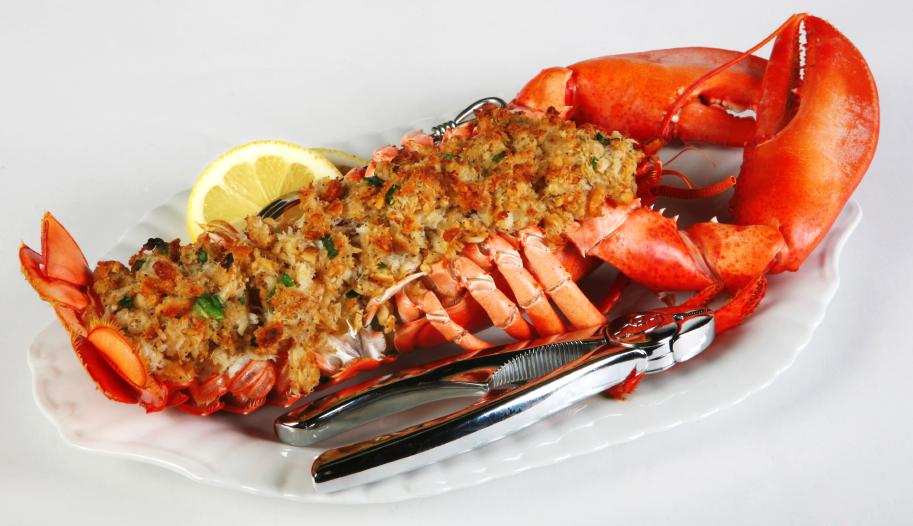 Baked Stuffed Lobsters | Foodsinthefastlane.me