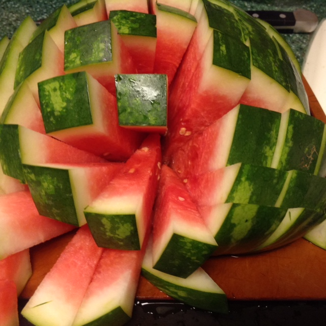 BEST Way to Cut a Watermelon (3/3)