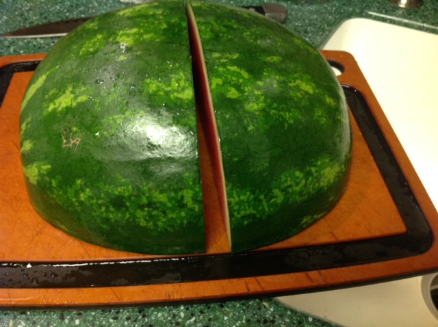 BEST Way to Cut a Watermelon (1/3)