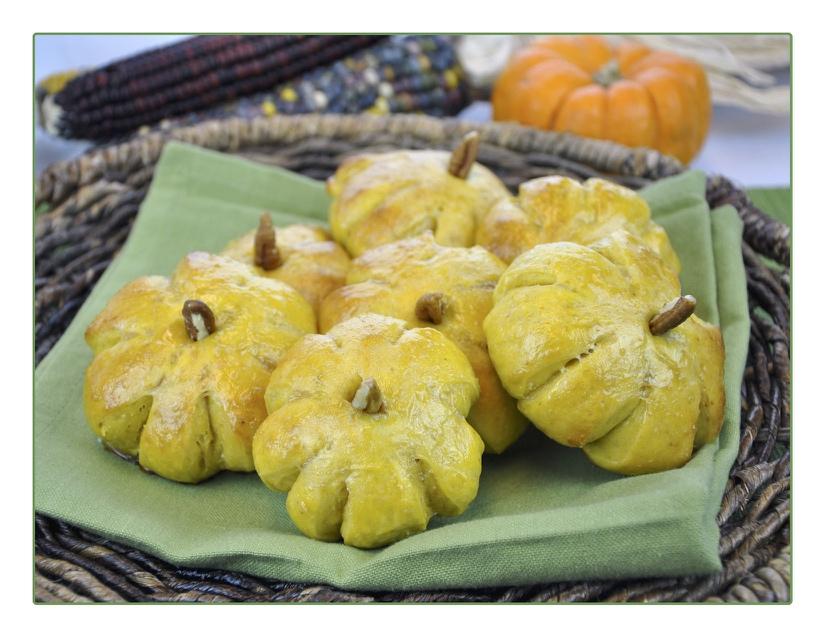 Pumpkin Dinner Rolls (4/4)