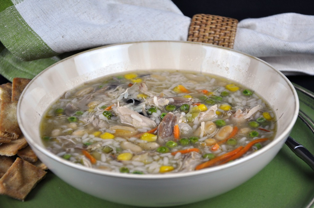 Mom's Leftover Turkey Soup